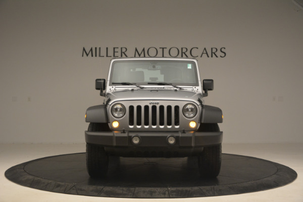Used 2015 Jeep Wrangler Sport for sale Sold at Rolls-Royce Motor Cars Greenwich in Greenwich CT 06830 12