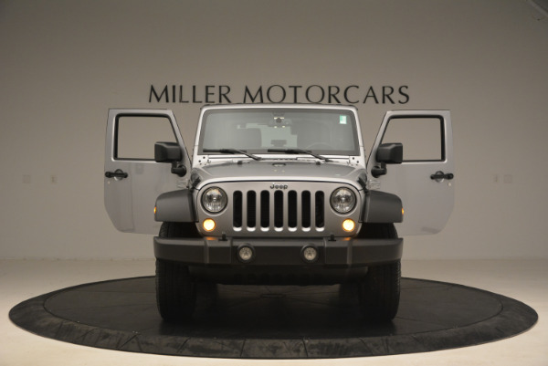 Used 2015 Jeep Wrangler Sport for sale Sold at Rolls-Royce Motor Cars Greenwich in Greenwich CT 06830 13