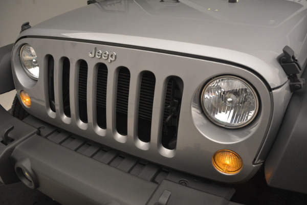Used 2015 Jeep Wrangler Sport for sale Sold at Rolls-Royce Motor Cars Greenwich in Greenwich CT 06830 14