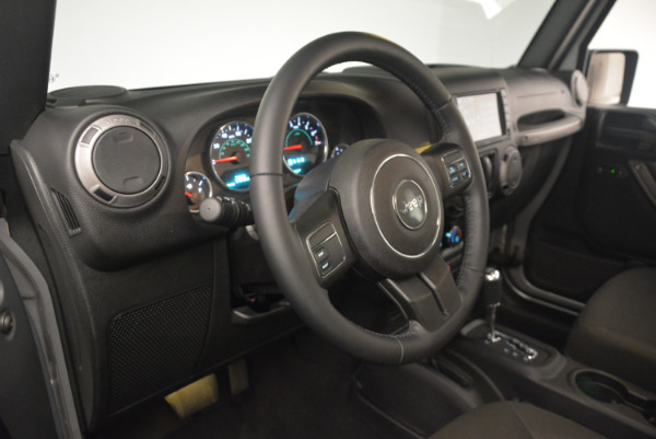 Used 2015 Jeep Wrangler Sport for sale Sold at Rolls-Royce Motor Cars Greenwich in Greenwich CT 06830 18