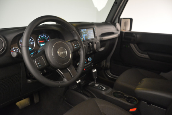 Used 2015 Jeep Wrangler Sport for sale Sold at Rolls-Royce Motor Cars Greenwich in Greenwich CT 06830 19