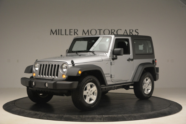 Used 2015 Jeep Wrangler Sport for sale Sold at Rolls-Royce Motor Cars Greenwich in Greenwich CT 06830 2