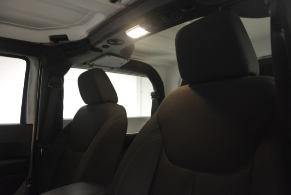 Used 2015 Jeep Wrangler Sport for sale Sold at Rolls-Royce Motor Cars Greenwich in Greenwich CT 06830 20