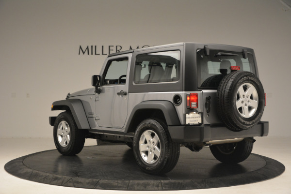 Used 2015 Jeep Wrangler Sport for sale Sold at Rolls-Royce Motor Cars Greenwich in Greenwich CT 06830 5