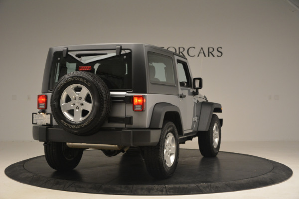 Used 2015 Jeep Wrangler Sport for sale Sold at Rolls-Royce Motor Cars Greenwich in Greenwich CT 06830 7
