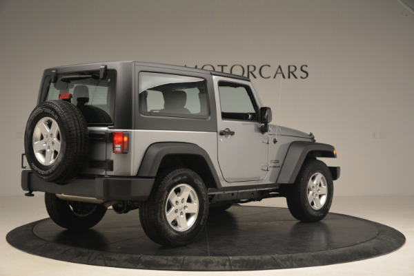 Used 2015 Jeep Wrangler Sport for sale Sold at Rolls-Royce Motor Cars Greenwich in Greenwich CT 06830 8