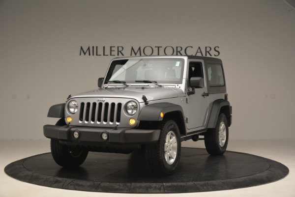 Used 2015 Jeep Wrangler Sport for sale Sold at Rolls-Royce Motor Cars Greenwich in Greenwich CT 06830 1