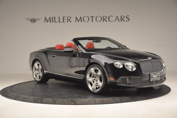 Used 2012 Bentley Continental GT W12 Convertible for sale Sold at Rolls-Royce Motor Cars Greenwich in Greenwich CT 06830 10