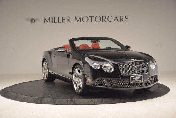 Used 2012 Bentley Continental GT W12 Convertible for sale Sold at Rolls-Royce Motor Cars Greenwich in Greenwich CT 06830 11
