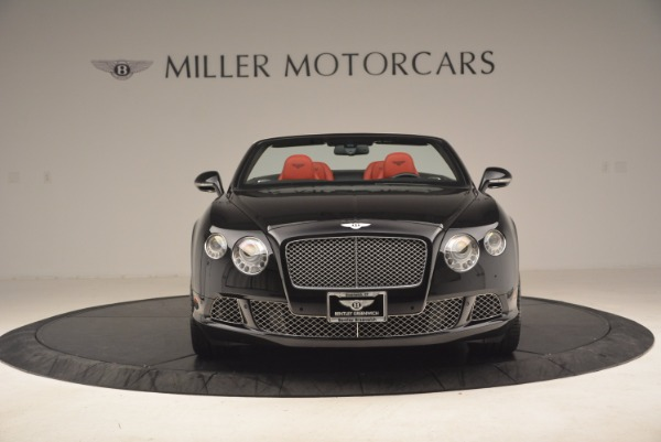 Used 2012 Bentley Continental GT W12 Convertible for sale Sold at Rolls-Royce Motor Cars Greenwich in Greenwich CT 06830 12