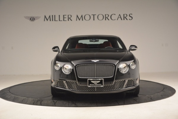 Used 2012 Bentley Continental GT W12 Convertible for sale Sold at Rolls-Royce Motor Cars Greenwich in Greenwich CT 06830 13