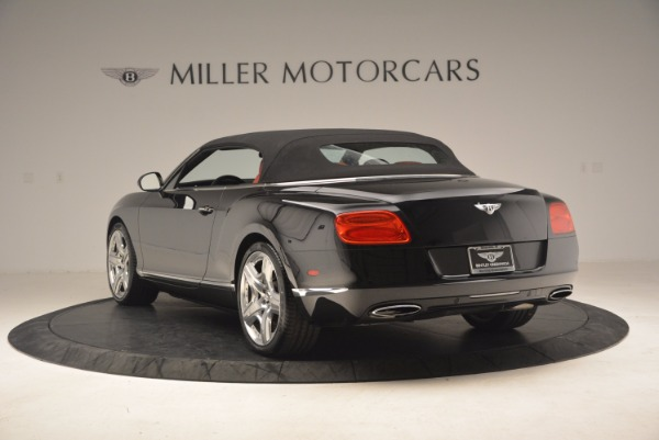 Used 2012 Bentley Continental GT W12 Convertible for sale Sold at Rolls-Royce Motor Cars Greenwich in Greenwich CT 06830 18