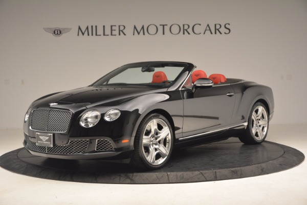 Used 2012 Bentley Continental GT W12 Convertible for sale Sold at Rolls-Royce Motor Cars Greenwich in Greenwich CT 06830 2