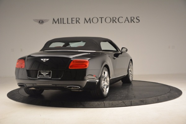 Used 2012 Bentley Continental GT W12 Convertible for sale Sold at Rolls-Royce Motor Cars Greenwich in Greenwich CT 06830 20