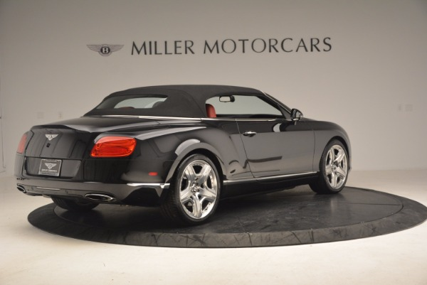 Used 2012 Bentley Continental GT W12 Convertible for sale Sold at Rolls-Royce Motor Cars Greenwich in Greenwich CT 06830 21