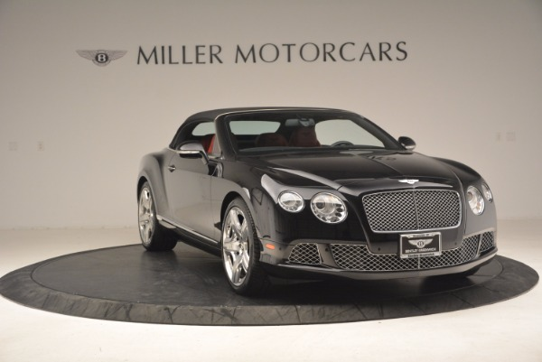 Used 2012 Bentley Continental GT W12 Convertible for sale Sold at Rolls-Royce Motor Cars Greenwich in Greenwich CT 06830 24