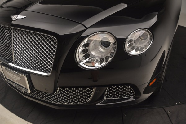 Used 2012 Bentley Continental GT W12 Convertible for sale Sold at Rolls-Royce Motor Cars Greenwich in Greenwich CT 06830 27