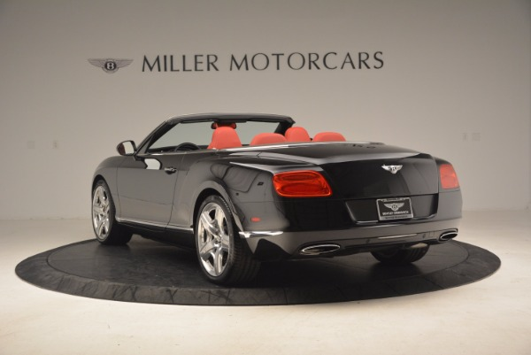Used 2012 Bentley Continental GT W12 Convertible for sale Sold at Rolls-Royce Motor Cars Greenwich in Greenwich CT 06830 5