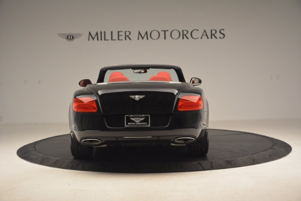 Used 2012 Bentley Continental GT W12 Convertible for sale Sold at Rolls-Royce Motor Cars Greenwich in Greenwich CT 06830 6
