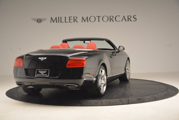 Used 2012 Bentley Continental GT W12 Convertible for sale Sold at Rolls-Royce Motor Cars Greenwich in Greenwich CT 06830 7