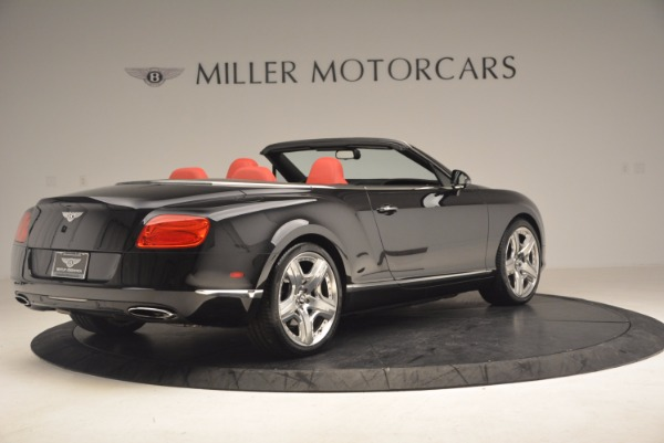 Used 2012 Bentley Continental GT W12 Convertible for sale Sold at Rolls-Royce Motor Cars Greenwich in Greenwich CT 06830 8