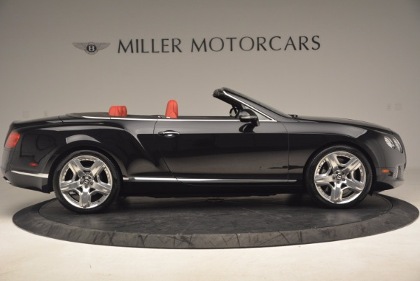Used 2012 Bentley Continental GT W12 Convertible for sale Sold at Rolls-Royce Motor Cars Greenwich in Greenwich CT 06830 9