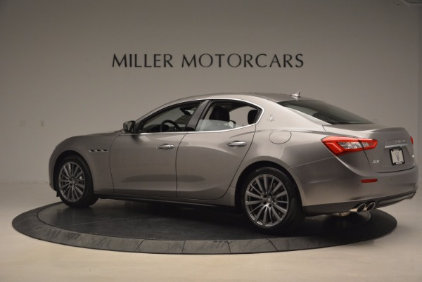 New 2017 Maserati Ghibli SQ4 for sale Sold at Rolls-Royce Motor Cars Greenwich in Greenwich CT 06830 4