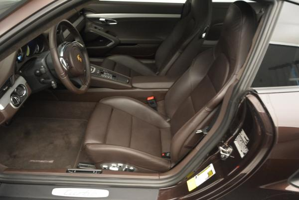 Used 2014 Porsche 911 Turbo for sale Sold at Rolls-Royce Motor Cars Greenwich in Greenwich CT 06830 17