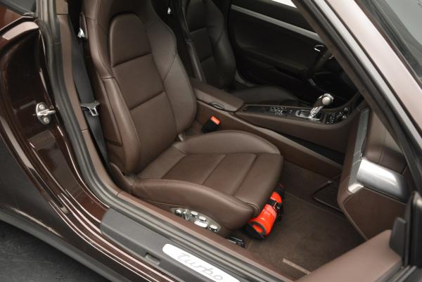 Used 2014 Porsche 911 Turbo for sale Sold at Rolls-Royce Motor Cars Greenwich in Greenwich CT 06830 24