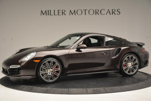 Used 2014 Porsche 911 Turbo for sale Sold at Rolls-Royce Motor Cars Greenwich in Greenwich CT 06830 3