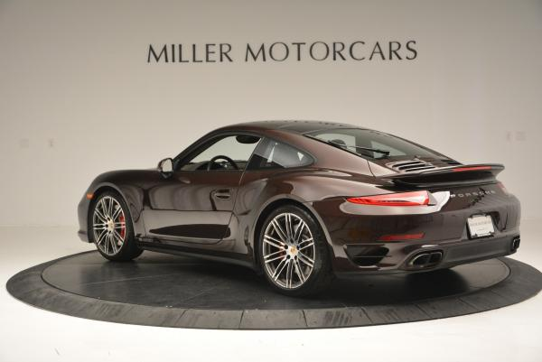 Used 2014 Porsche 911 Turbo for sale Sold at Rolls-Royce Motor Cars Greenwich in Greenwich CT 06830 5