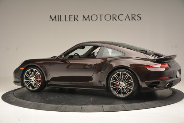Used 2014 Porsche 911 Turbo for sale Sold at Rolls-Royce Motor Cars Greenwich in Greenwich CT 06830 6