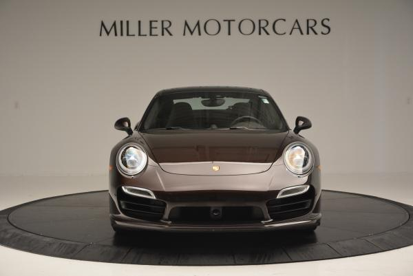 Used 2014 Porsche 911 Turbo for sale Sold at Rolls-Royce Motor Cars Greenwich in Greenwich CT 06830 8