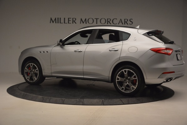 Used 2017 Maserati Levante S for sale Sold at Rolls-Royce Motor Cars Greenwich in Greenwich CT 06830 4