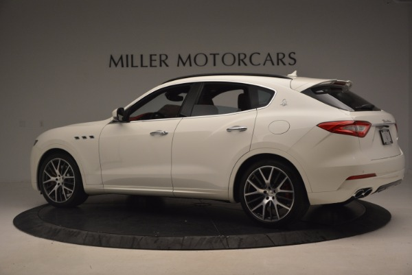 New 2017 Maserati Levante S for sale Sold at Rolls-Royce Motor Cars Greenwich in Greenwich CT 06830 4