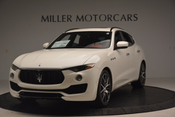 New 2017 Maserati Levante S for sale Sold at Rolls-Royce Motor Cars Greenwich in Greenwich CT 06830 1