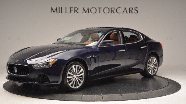 New 2017 Maserati Ghibli S Q4 for sale Sold at Rolls-Royce Motor Cars Greenwich in Greenwich CT 06830 2