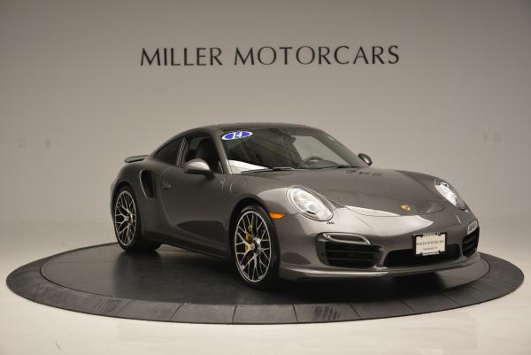 Used 2014 Porsche 911 Turbo S for sale Sold at Rolls-Royce Motor Cars Greenwich in Greenwich CT 06830 10