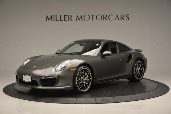 Used 2014 Porsche 911 Turbo S for sale Sold at Rolls-Royce Motor Cars Greenwich in Greenwich CT 06830 2