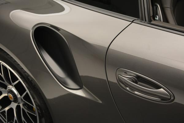 Used 2014 Porsche 911 Turbo S for sale Sold at Rolls-Royce Motor Cars Greenwich in Greenwich CT 06830 22