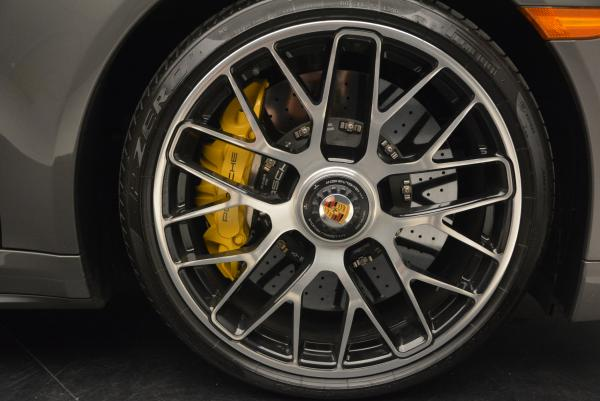 Used 2014 Porsche 911 Turbo S for sale Sold at Rolls-Royce Motor Cars Greenwich in Greenwich CT 06830 25