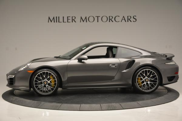 Used 2014 Porsche 911 Turbo S for sale Sold at Rolls-Royce Motor Cars Greenwich in Greenwich CT 06830 3