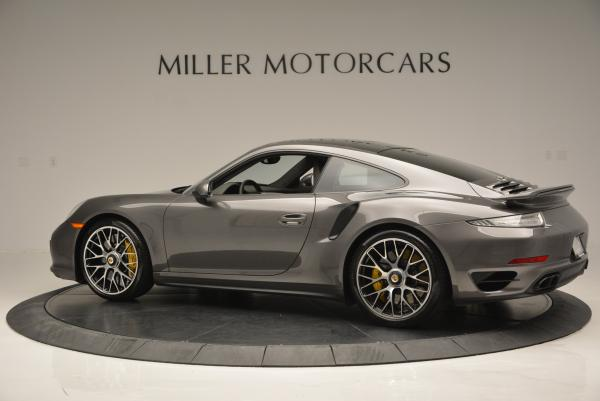Used 2014 Porsche 911 Turbo S for sale Sold at Rolls-Royce Motor Cars Greenwich in Greenwich CT 06830 4