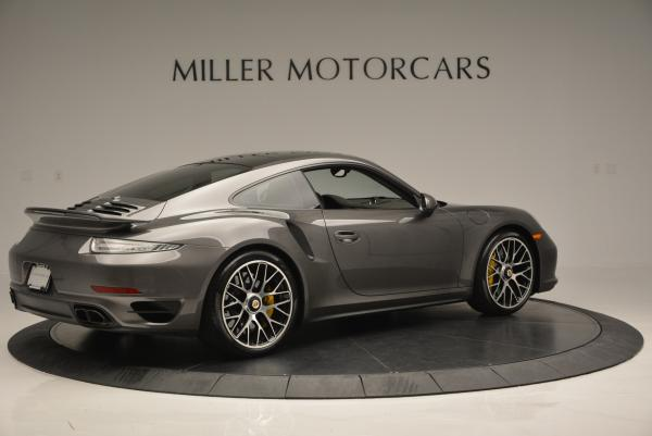 Used 2014 Porsche 911 Turbo S for sale Sold at Rolls-Royce Motor Cars Greenwich in Greenwich CT 06830 7