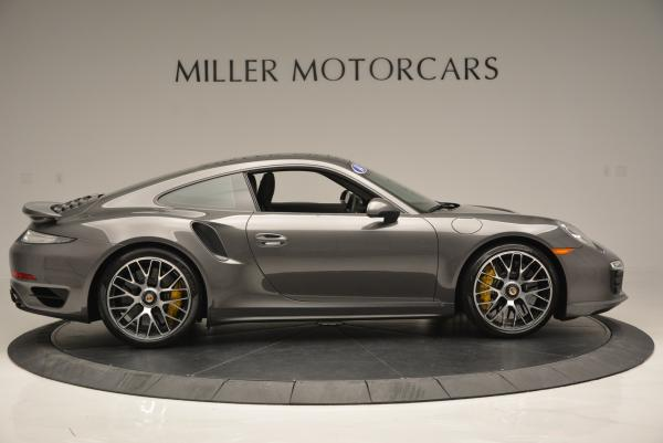Used 2014 Porsche 911 Turbo S for sale Sold at Rolls-Royce Motor Cars Greenwich in Greenwich CT 06830 8