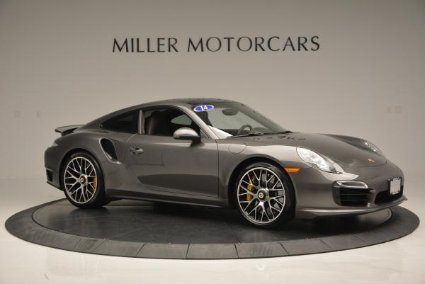 Used 2014 Porsche 911 Turbo S for sale Sold at Rolls-Royce Motor Cars Greenwich in Greenwich CT 06830 9