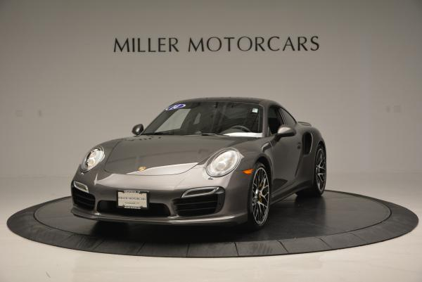 Used 2014 Porsche 911 Turbo S for sale Sold at Rolls-Royce Motor Cars Greenwich in Greenwich CT 06830 1