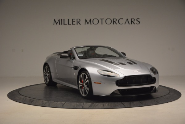 Used 2015 Aston Martin V12 Vantage S Roadster for sale Sold at Rolls-Royce Motor Cars Greenwich in Greenwich CT 06830 11