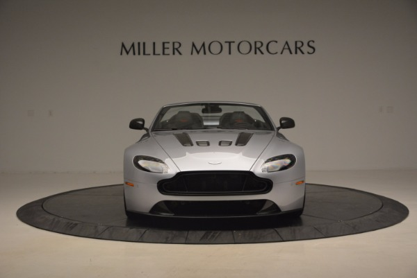 Used 2015 Aston Martin V12 Vantage S Roadster for sale Sold at Rolls-Royce Motor Cars Greenwich in Greenwich CT 06830 12
