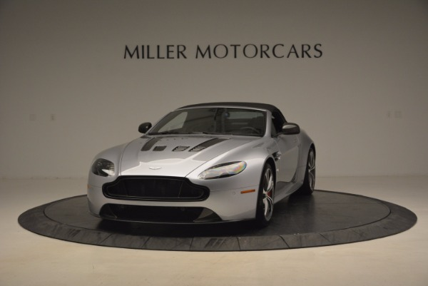 Used 2015 Aston Martin V12 Vantage S Roadster for sale Sold at Rolls-Royce Motor Cars Greenwich in Greenwich CT 06830 13